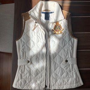 Ralph Lauren women quilted vest